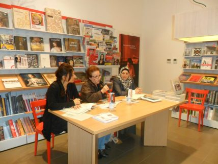 l'autrice Marisa Iannucci Con Marina Mannucci e Maria Paola Patuelli, Feltrinelli, Ravenna